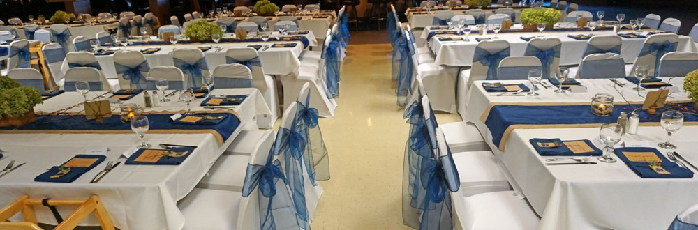 banquet hall tables