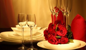 corporate events table setting